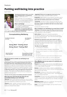 Well Being Into Practice PDF Link